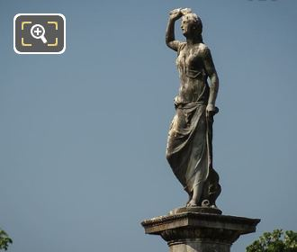 Goddess Of Love Statue Jardin Du Luxembourg