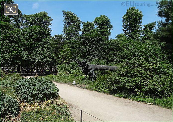 Pathway To L'Arbre Des Vyelles Bronze Sculpture