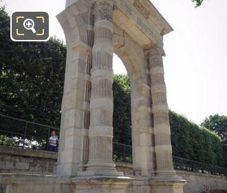 RHS Of Vestige Du Palais Des Tuileries