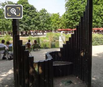 Bronze Confidence Sculpture Jardin Des Tuileries