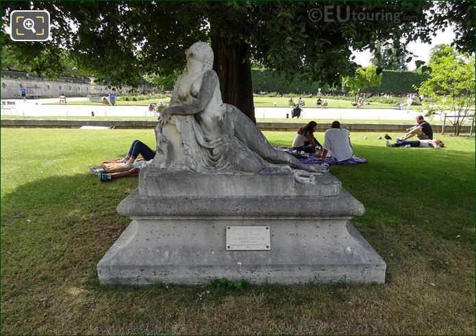 Mort De Lais Statue By Roland Mathieu-Meusnier