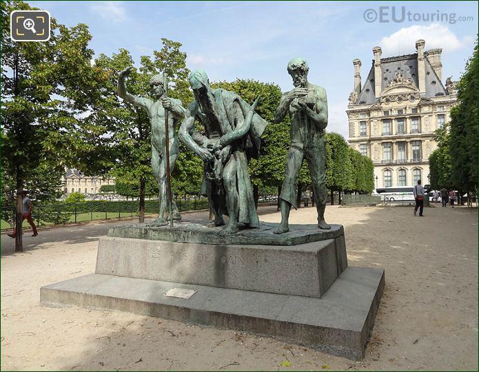 Les Fils De Cain Statues Terrasse Du Bord De l'Eau