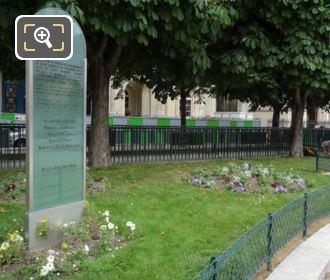 Jewish Children's Monument Square Michel Caldagues