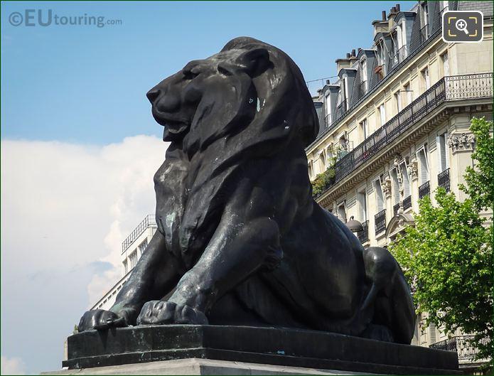 The 1880 Lion Of Belfort Statue