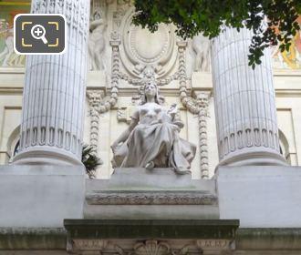 Grand Palais Statue L'Art Egyptien