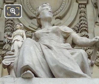 L'Art Grec Statue By Michel Beguine
