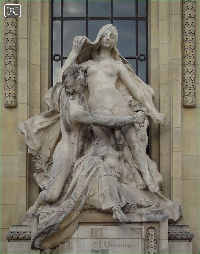 L'Art Et La Nature Sculpture By Sculptor Paul Gasq