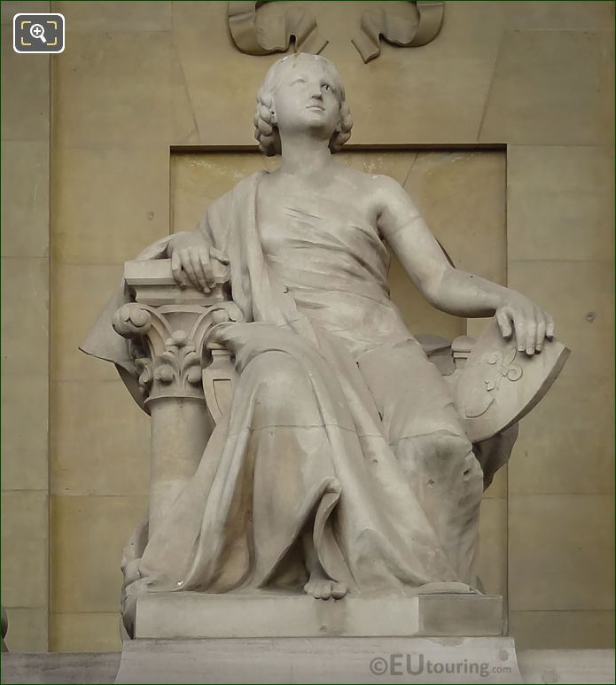 L'Art Du Moyen Age Statue By Edgar Boutry