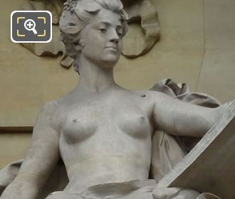 Picture Of L'Art Contemporain Statue In Paris