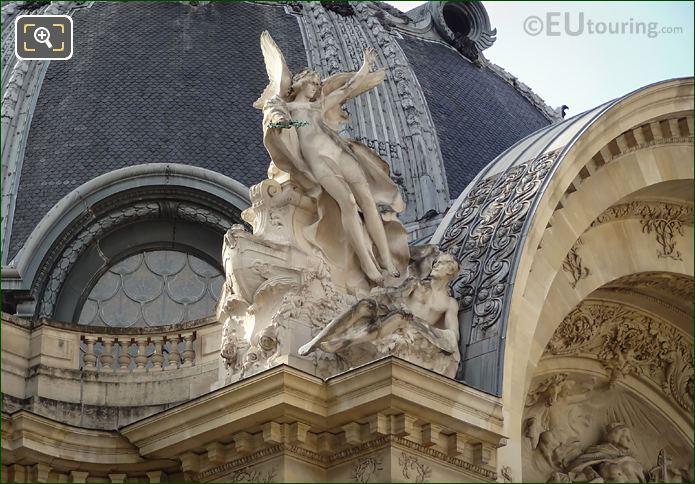 Le Genie De La Peinture Statue Petit Palais