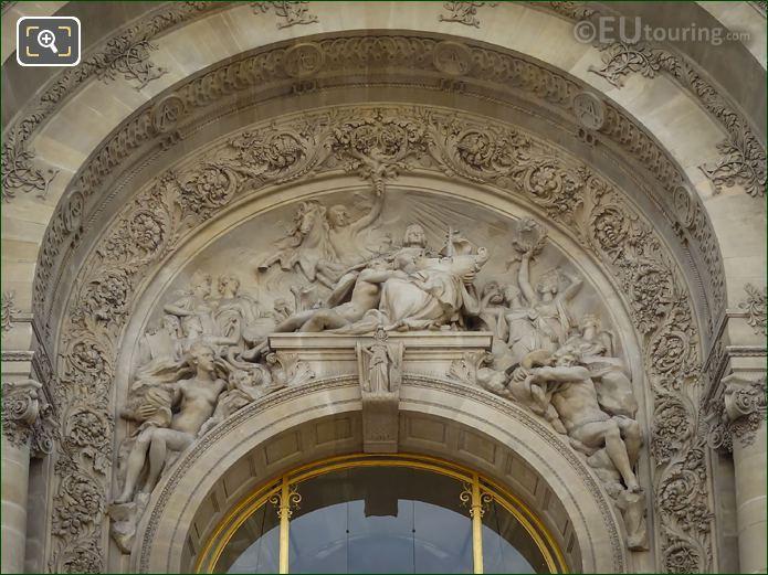 La Ville De Paris Entouree Des Muses Sculpture By Jean Injalbert