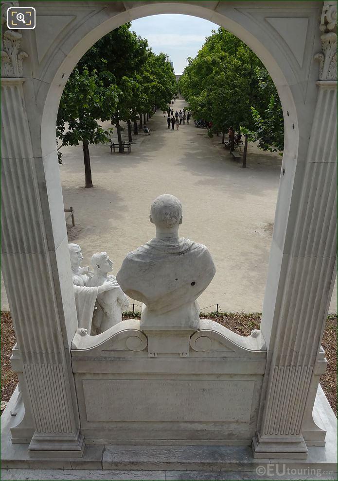 Looking Through Waldeck-Rousseau Monument