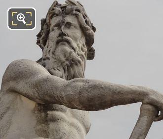 Male Figure La Seine Et La Marne Statue