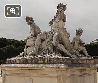 LHS Of La Loire Et Le Loiret Statue