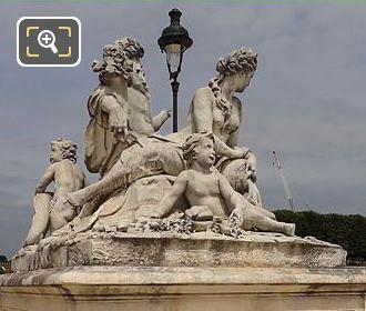 RHS Of La Loire Et Le Loiret Statue