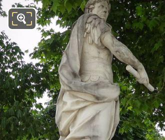 Julius Caesar Statue By Sculptor Nicolas Coustou