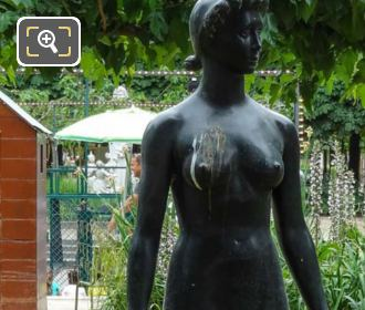 Bronze Jeanette Statue By Sculptor Paul Belmondo