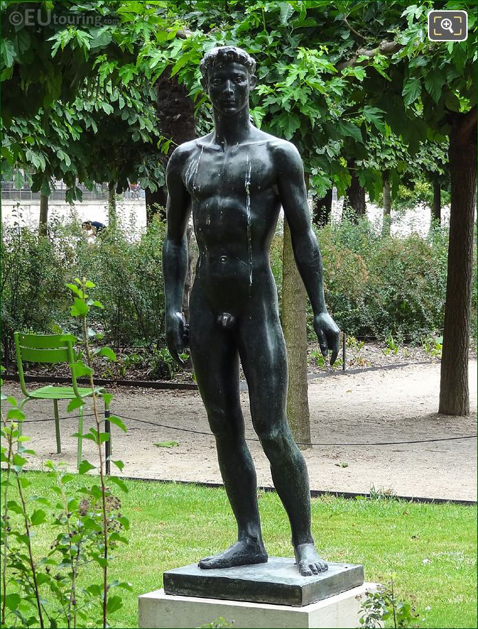 Apollon Statue By French Sculptor Paul Belmondo