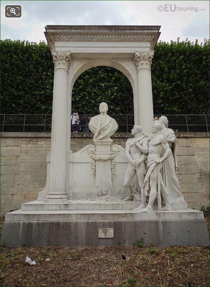 Waldeck-Rousseau Monument In Jardin Des Tuileries