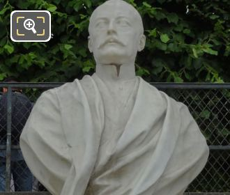 Marble Bust Of Waldeck-Rousseau In Jardin Des Tuileries