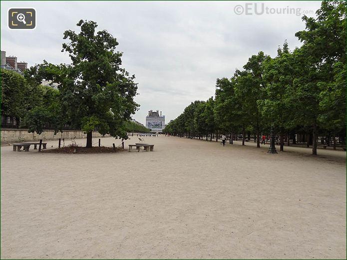 Esplanade Feuillants And Le Chene De La Republique Monument