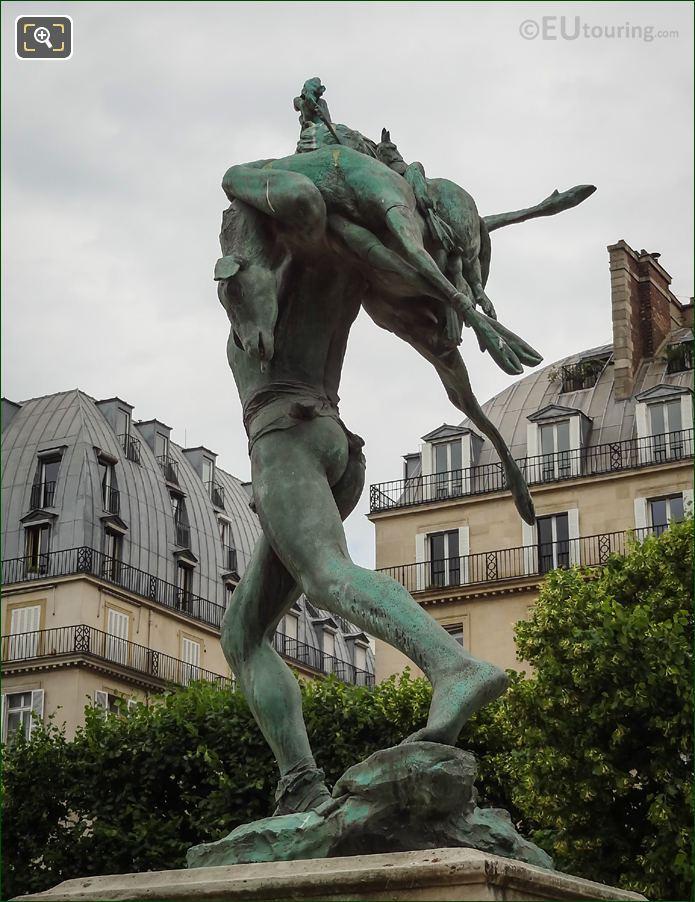 South Side Of Retour De Chasse Statue