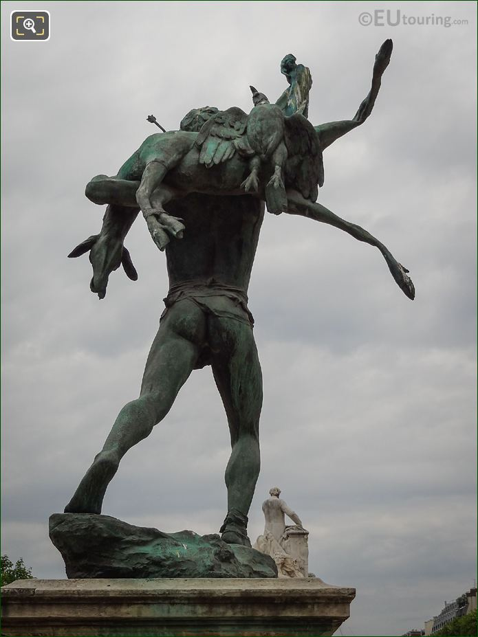 Bronze Deer On The Retour De Chasse Statue
