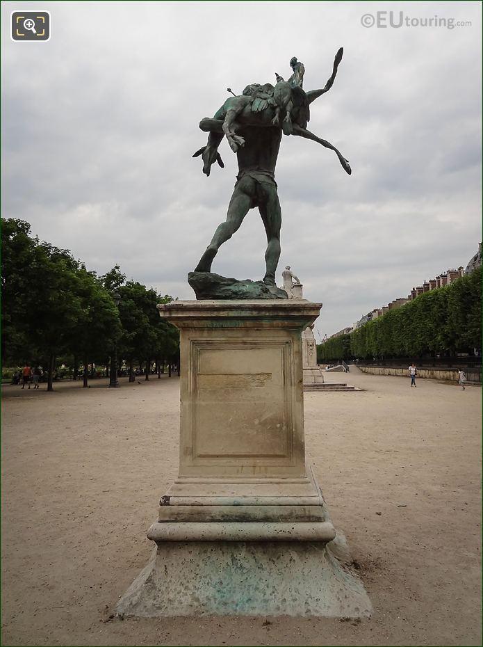 Bronze Statue Retour De Chasse Cast By Thiebaut Freres