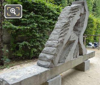 Force Et Tendresse Sculpture By Eugene Dodeigne