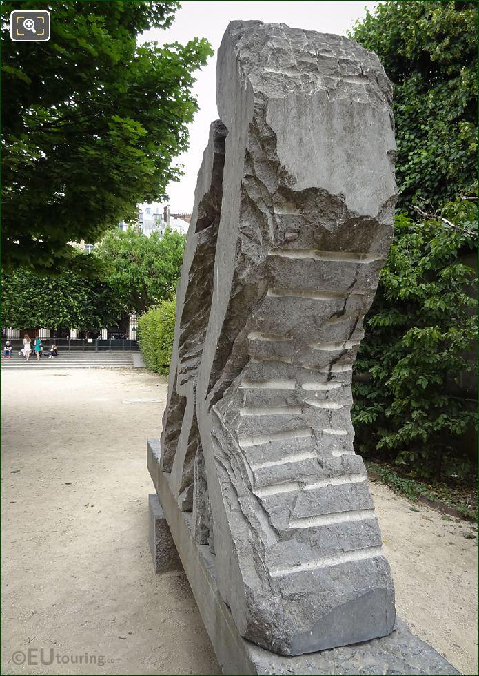 LHS Carving Of Force Et Tendresse Sculpture
