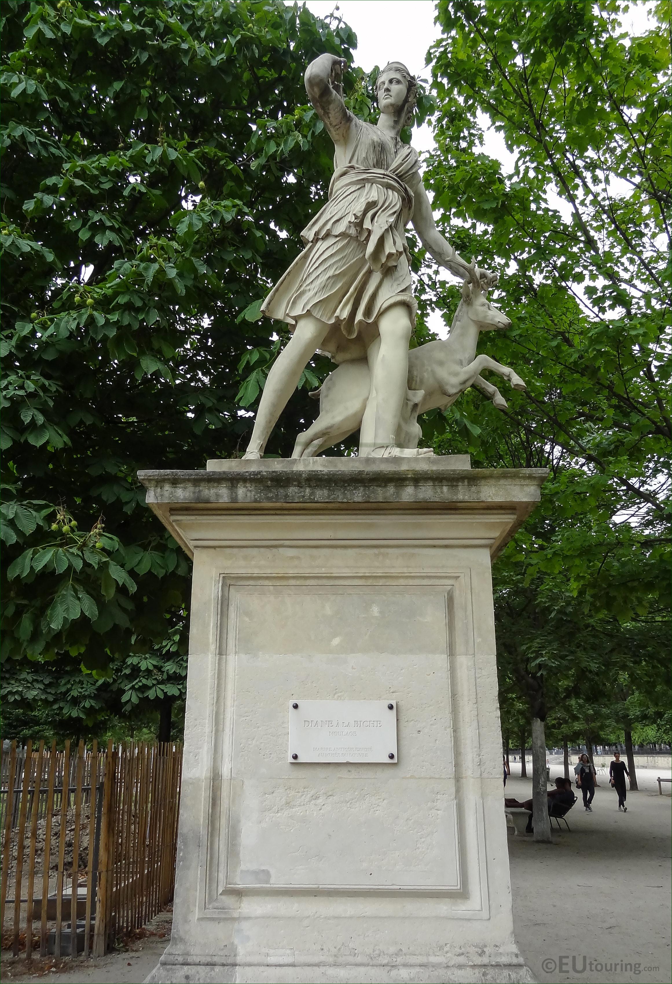 Photos of diane a la biche statue in jardin des tuileries page 679 - Statue jardin ...