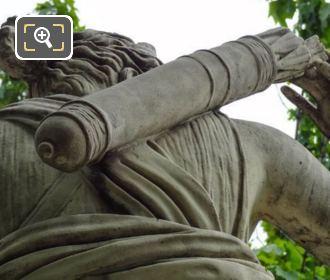 Picture Of The Quiver On Diane A La Biche Statue
