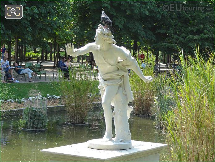 Front Of Apollo Statue Tuileries Gardens