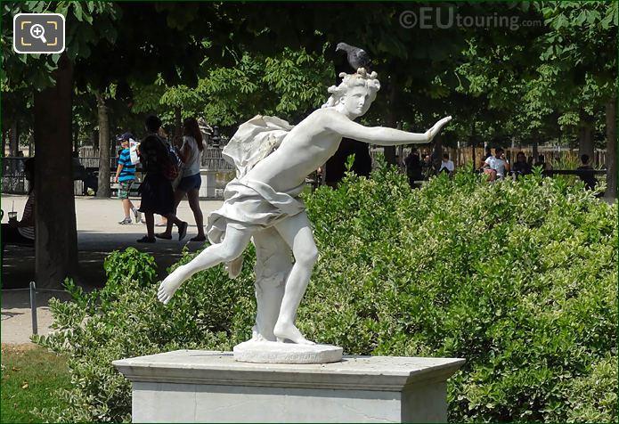 Apollo Statue By Sculptor Nicolas Coustou