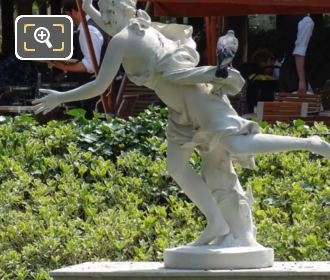 LHS Of Daphne Statue In Tuileries Gardens