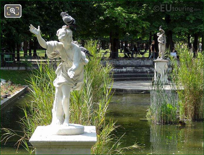 Daphne Statue On South Side Of Jardin Des Tuileries