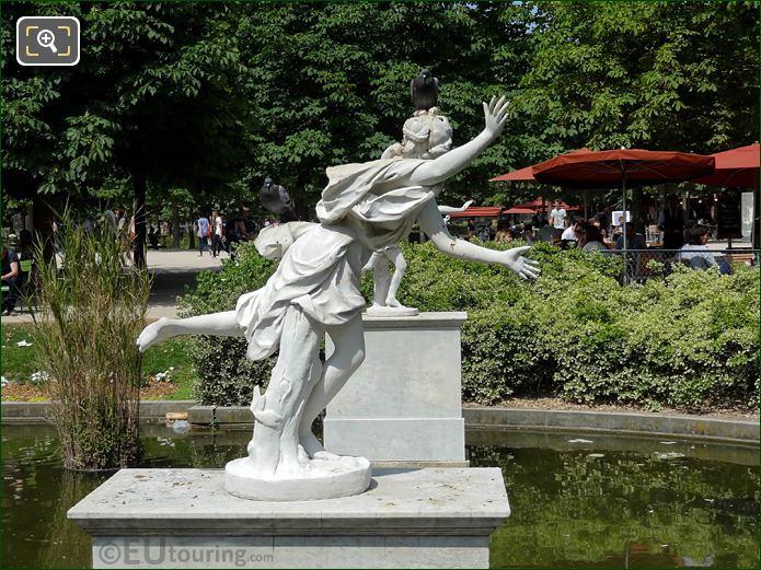 Tuileries Gardens Daphne Statue