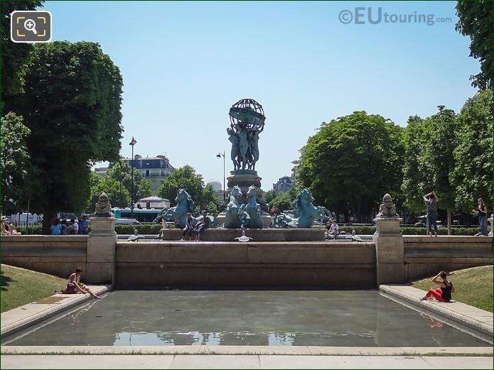 Fontaine De l'Observatoire Jardin Marco Polo