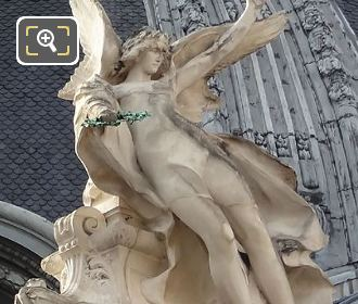 Le Genie De La Peinture Statue By Charles Saint-Marceaux