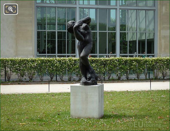1881 Meditation Avec Bras In Jardin Des Tuileries