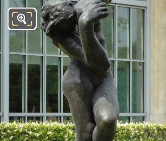 The Bronze Meditation Avec Bras Statue By Auguste Rodin
