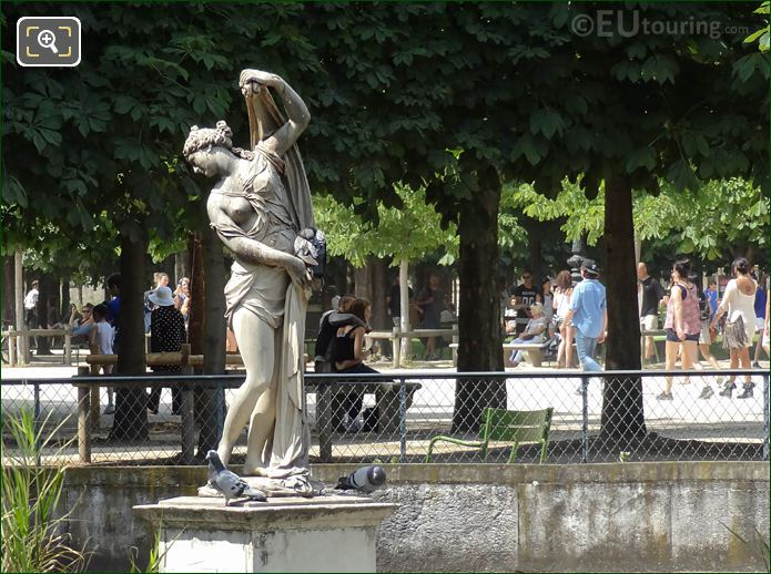 Venus Callipyge Statue By Sculptor Francois Barois