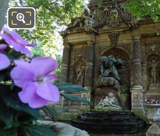 Fontaine Medicis In Luxembourg Gardens Paris