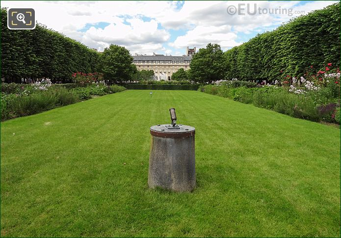 The Small Canon Within The Palais Royal Garden Area