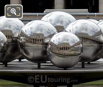 Mirror Ball Fountain By Belgium Artist Pol Bury