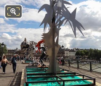 Contemporary Sculptures By Daniel Hourde On Pont Arts