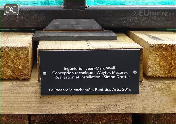 Info Plaque For Art Exhibition By Daniel Hourde