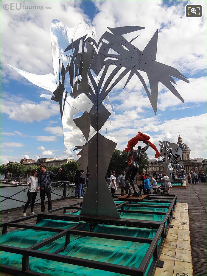 Contemporary Art Exhibition Passerelle Enchantee By Daniel Hourde