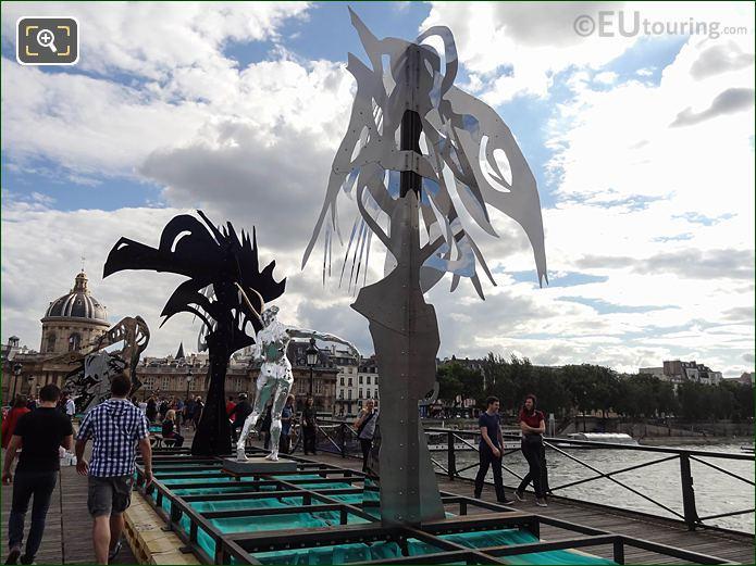Pont Arts 2016 Sculpture Arbre By D Hourde