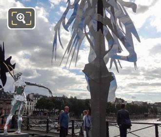 Enchanted Footbridge Exhibition Sculpture Arbre